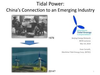 Tidal Power: China's Connection to an Emerging Industry