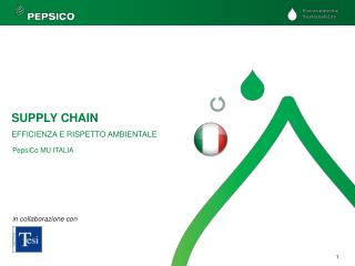 SUPPLY CHAIN EFFICIENZA E RISPETTO AMBIENTALE
