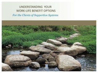 UNDERSTANDING YOUR WORK-LIFE BENEFIT OPTIONS