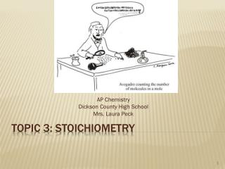 Topic 3: Stoichiometry