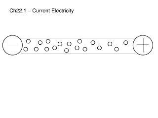 Ch22.1 – Current Electricity