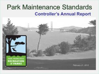 Park Maintenance Standards