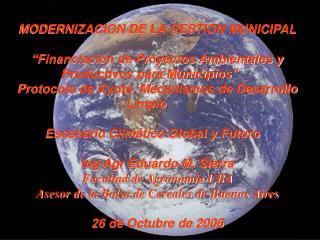 MODERNIZACION DE LA GESTION MUNICIPAL