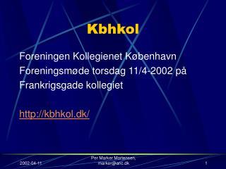 Kbhkol