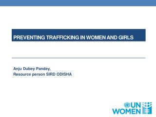 P reventing trafficking in women and girls