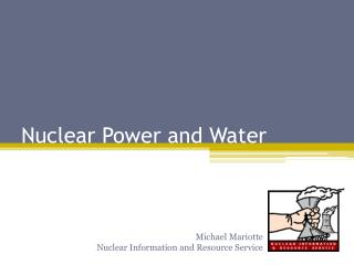 Nuclear Power and Water