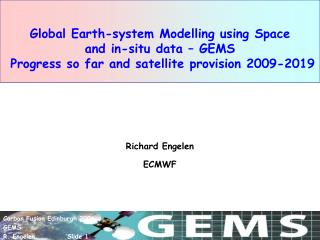 Richard Engelen ECMWF