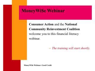 MoneyWi$e Webinar