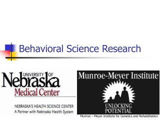 Behavioral Science Research