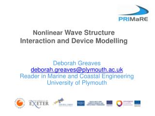 Nonlinear Wave Structure Interaction and Device Modelling