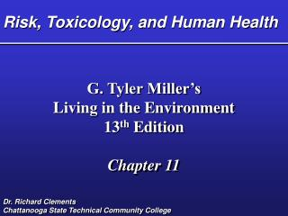Risk, Toxicology, and Human Health