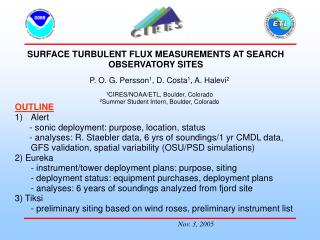 SURFACE TURBULENT FLUX MEASUREMENTS AT SEARCH OBSERVATORY SITES