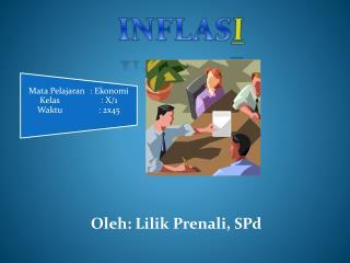 Oleh: Lilik Prenali, SPd