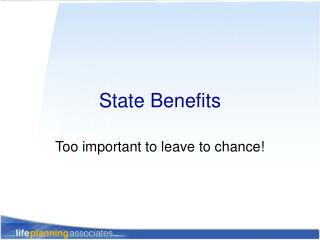 State Benefits