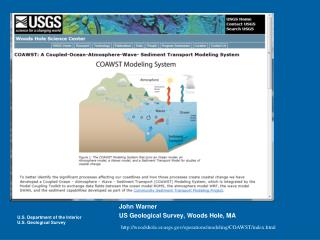Coupled-Ocean-Atmosphere-Waves-Sediment Transport (COAWST)  Modeling System Training