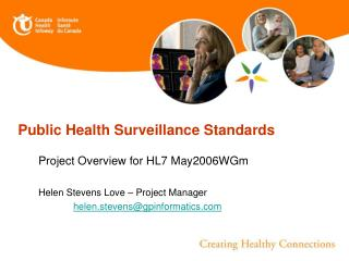 Public Health Surveillance Standards