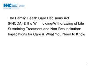 FHCDA Highlights