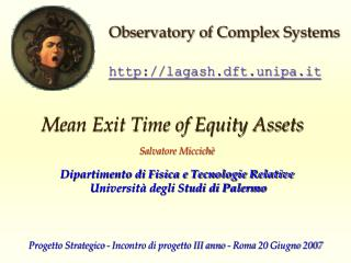 Mean Exit Time of Equity Assets