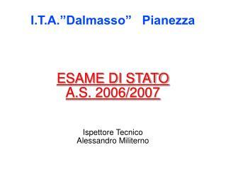 """I.T.A.""""Dalmasso"""" Pianezza"""