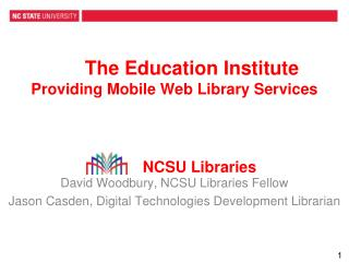 The Education Institute Providing Mobile Web Library Services