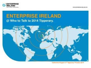 ENTERPRISE IRELAND @ Who to Talk to 2014 Tipperary.