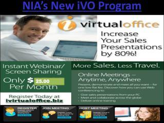 NIA's New iVO Program