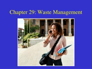Chapter 29: Waste Management
