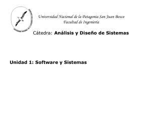 Unidad 1: Software y Sistemas