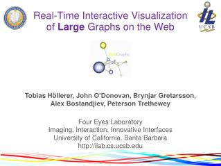 Real-Time Interactive Visualization of Large Graphs on the Web