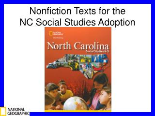 Nonfiction Texts for the  NC Social Studies Adoption