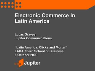 Electronic Commerce In Latin America