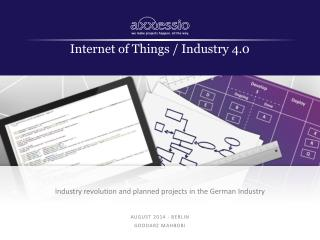 Internet of Things / Industry 4.0