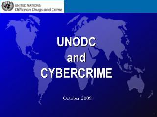UNODC and CYBERCRIME