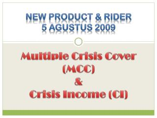 New Product & Rider 5 agustus 2009