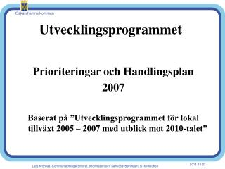 Utvecklingsprogrammet