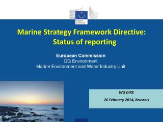 Marine Strategy Framework Directive: Status of reporting