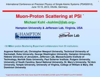 Muon-Proton Scattering at PSI  *