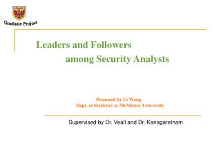 Leaders and Followers              among Security Analysts