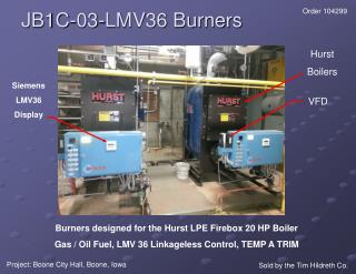 JB1C-03-LMV36 Burners