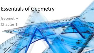 Essentials of Geometry