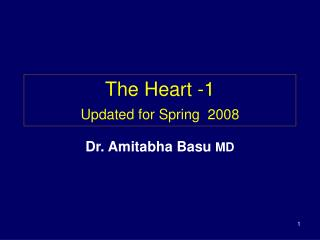 The Heart -1 Updated for Spring  2008