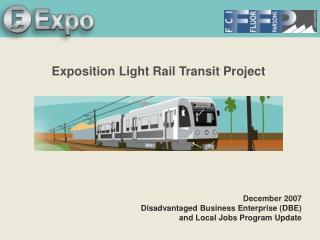 Exposition Light Rail Transit Project