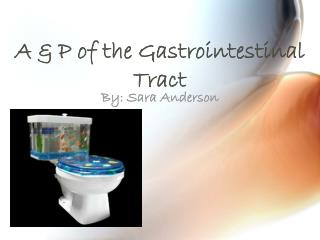 A & P of the Gastrointestinal Tract