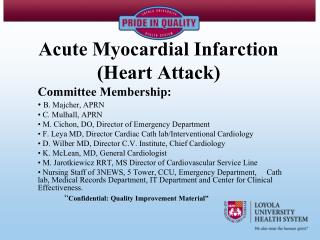 Acute Myocardial Infarction (Heart Attack)