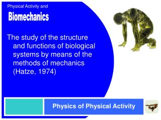 Physics of Physical Activity