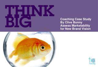 Coaching Case Study By Clive Bonny Assess Marketability  for New Brand Vision