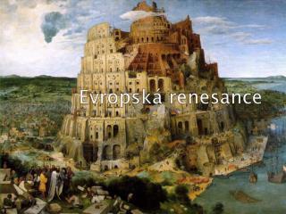 Evropská renesance