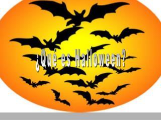 ¿Qué es Halloween?