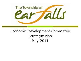 Economic Development Committee Strategic Plan May 2011