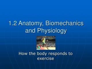1.2 Anatomy, Biomechanics and Physiology